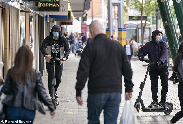 Rising injuries from e-scooters on Britain's streets
