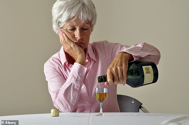 'Risky drinking' is found to increase among women in their 50s and 60s, study reveals