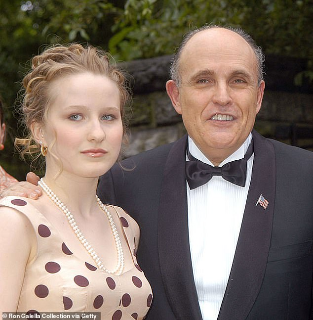 Rudy Giuliani's daughter Caroline, 31, slams her famous father as a 'sycophant' in stinging essay