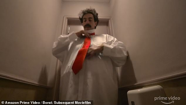 Sacha Baron Cohen brings Borat back with a VERY un-PC bang in new sequel trailer