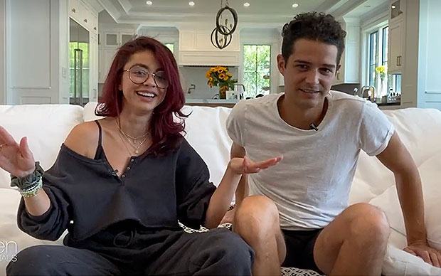 Sarah Hyland & Wells Adams Try Tantric Yoga In Sexy Video For New 'Lady Parts' Series — Watch