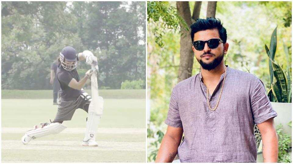Shahid Kapoor's practice session for Jersey impresses Suresh Raina: 'Superb cover drive man'