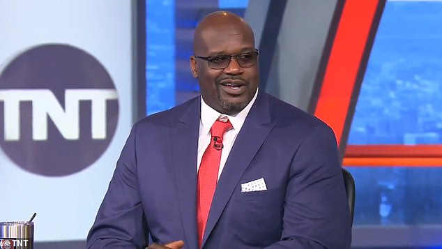 Shaquille O'Neal, 48, confesses he has voted for the FIRST TIME in this year's election