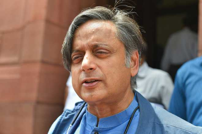 Shashi Tharoor's remarks at Lahore event spark BJP-Cong spat