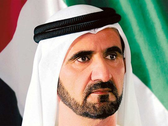 Sheikh Mohammed stresses on importance of words