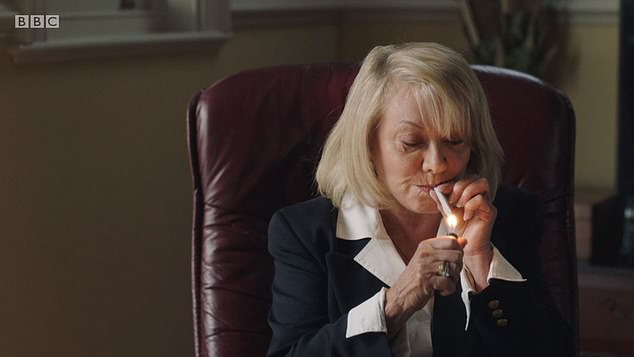 Singer Elaine Paige says playing a pot-smoking marriage wrecker in new BBC drama Life is easy