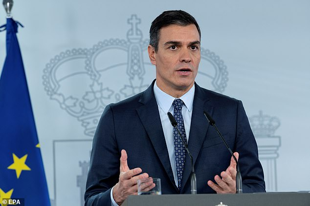 Spain declares new State of Emergency set to last until MAY