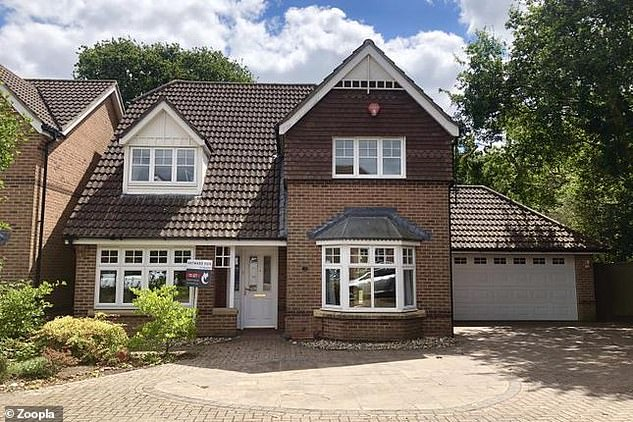 Rental properties: This four-bed detached house in Lymington, Hampshire, is available to rent for £1,400 a month