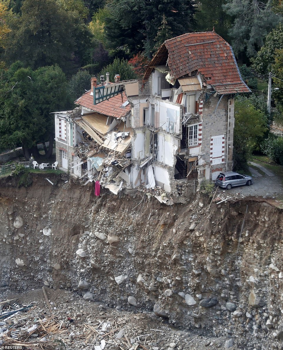 Storm Alex: French village obliterated by torrential flooding