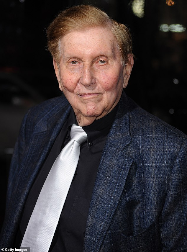 Sumner Redstone stiffed ex Sydney Holland from his trust, but included her daughter
