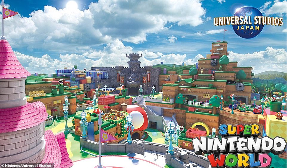Super Nintendo World will open at Universal Studios Japan next year after being delayed by Covid-19