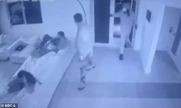 Surveillance video captures armed home invasion in Florida