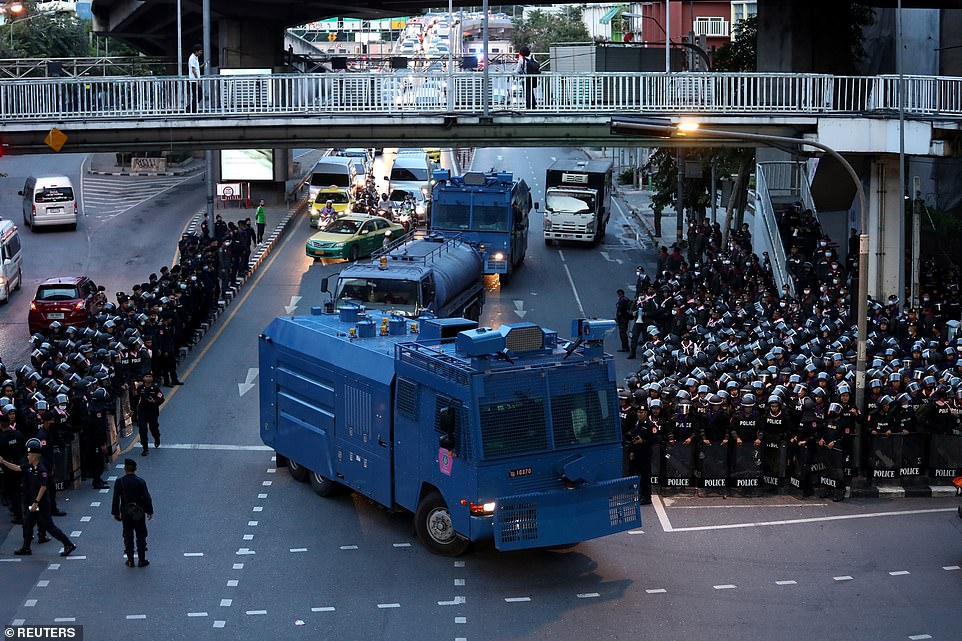 Thailand's government announces emergency decree to quell anti-government protesters