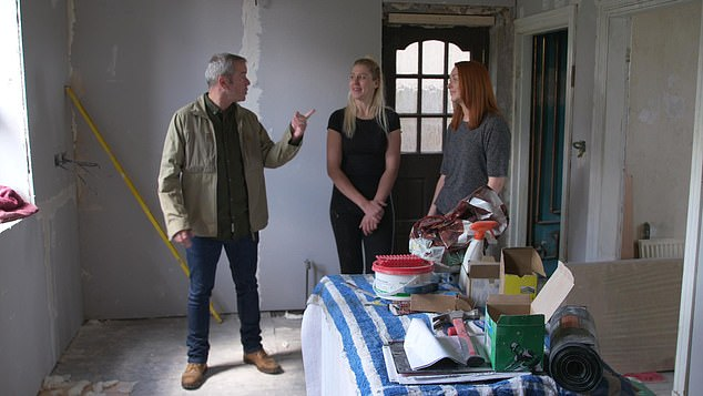 The Great House Giveaway sees two strangers renovate a house to sell for a profit