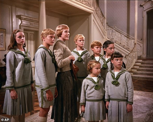 The Sound Of Music stars who played the von Trapp children reunite online
