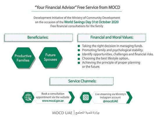 These families can avail free financial adviser services in the UAE
