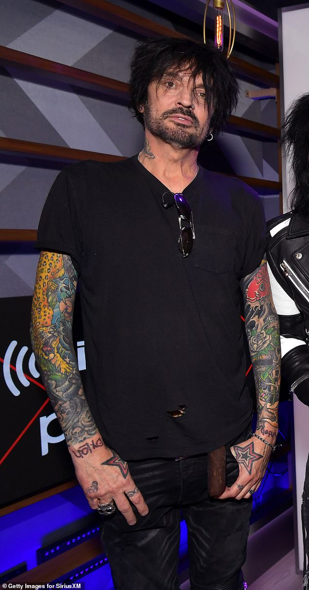 Tommy Lee plans to leave the United States if Donald Trump wins re-election in November