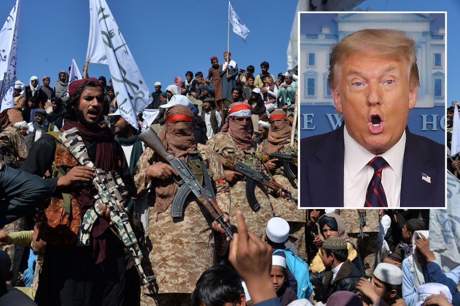 Trump receives support from Taliban | The NY Journal