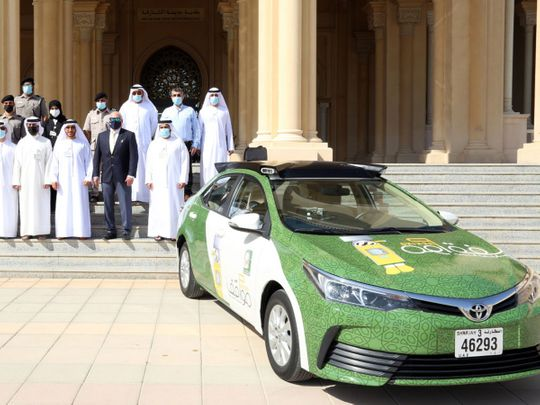 Two digital scanning vehicles to monitor public parking areas launched in Sharjah