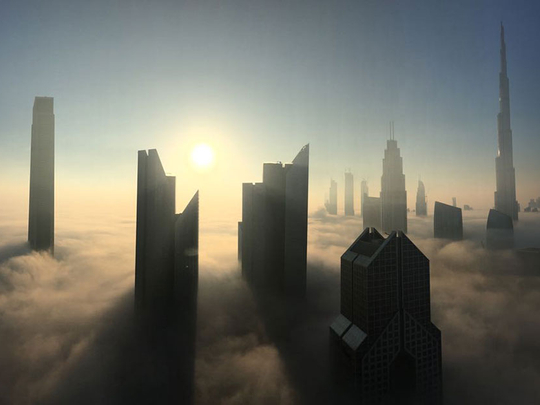 UAE: Partly cloudy weather, fog to cause poor visibility till 9:30am in some areas