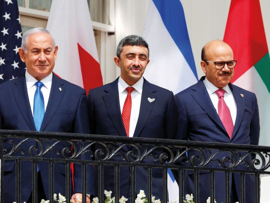 UAE underscores need to leverage Israel peace accord to break deadlock in Middle East peace process