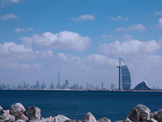 UAE weather, Partly cloudy, hazy skies with an increase in humidity at night