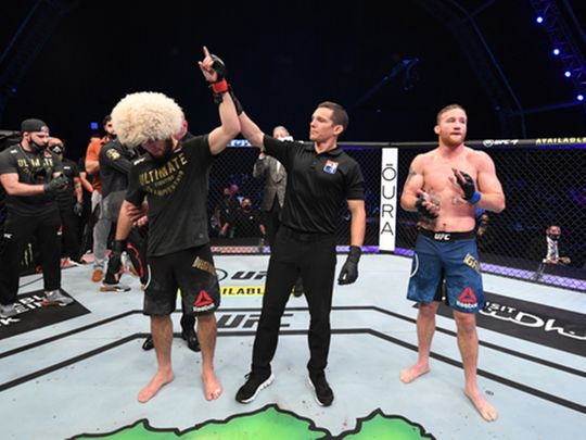 UFC 254: Lightweight champion Khabib Nurmagomedov retires after win in Abu Dhabi