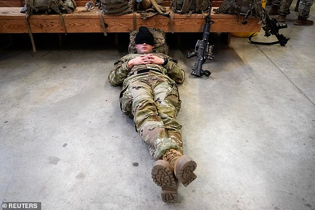 US Army rolls urges soldiers to NAP to improve mission performance