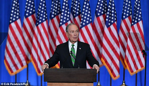 US Election 2020: Mike Bloomberg spends $15m on Biden TV ads