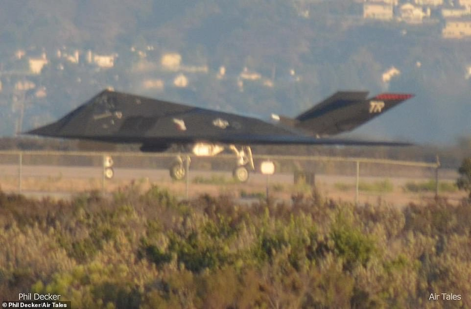 USAF is still flying the original F-117 stealth fighter 12 years after it was officially retired