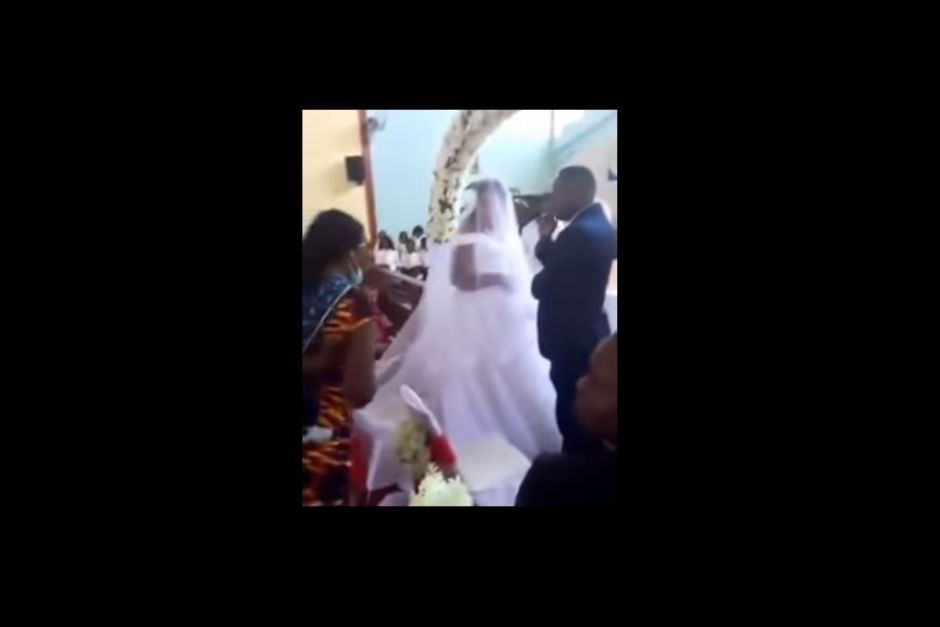 VIDEO: Man was getting married for the second time when his angry wife interrupts the ceremony | The NY Journal