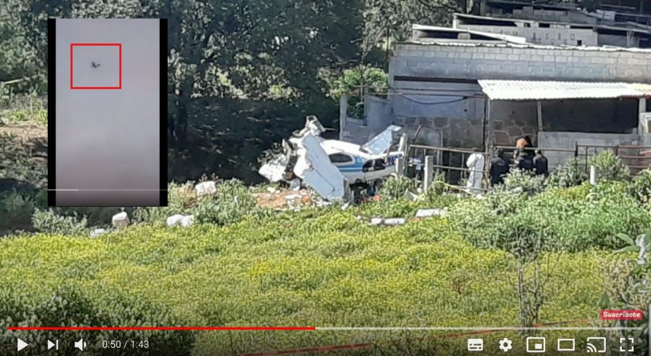 VIDEO: Narcos crash into narco-aircraft after being pursued by Mexican military | The NY Journal