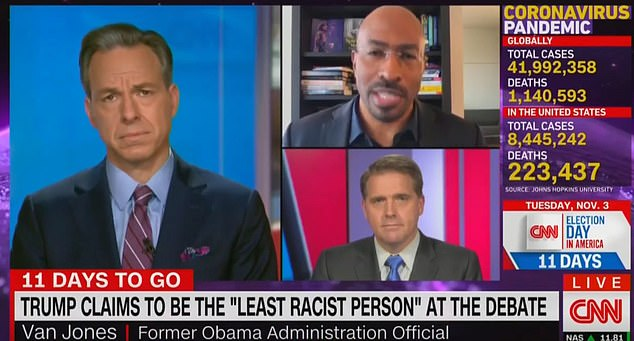 Van Jones says Trump 'doesn't get credit' for 'good things' he has done for African Americans
