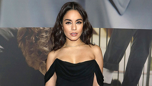 Vanessa Hudgens Brings A Spooky 'Vibe' In New Black Widow Halloween Costume