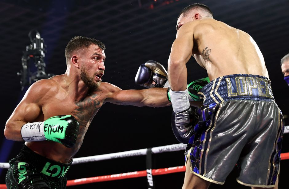 Vasyl Lomachenko faced Teófimo López with an injured shoulder, says his manager | The NY Journal