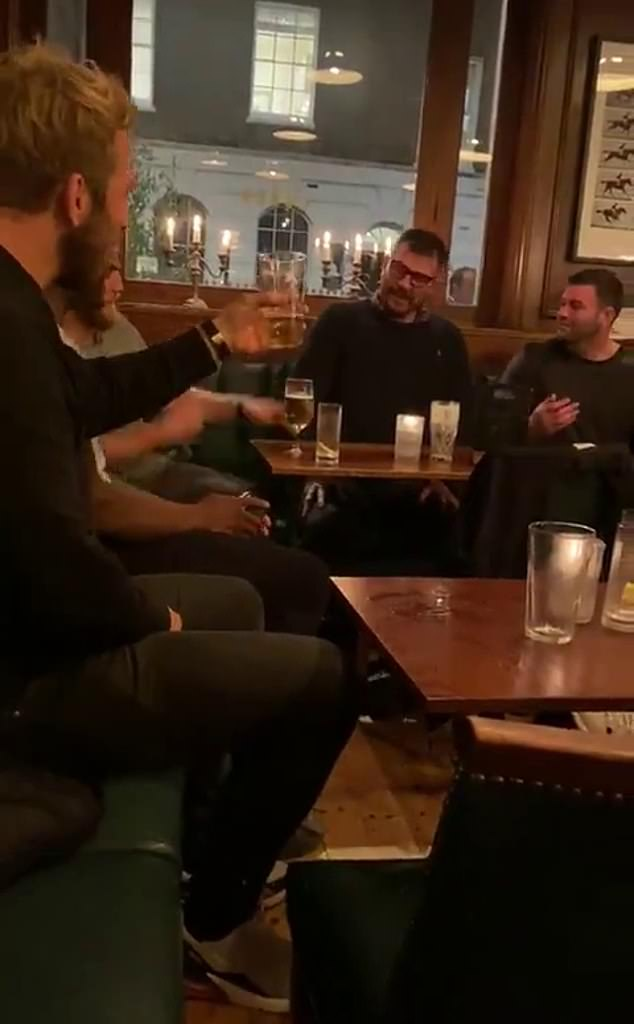 WATCH: Video footage emerges of the seven Barbarians players breaking Covid rules with pub drinking