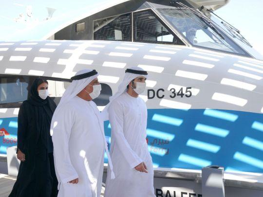 Watch: Sheikh Hamdan inspects progress of Dubai's Shindagha Bridge project