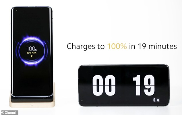 Xiaomi's wireless charger 'can fully charge a phone in 19 minutes'