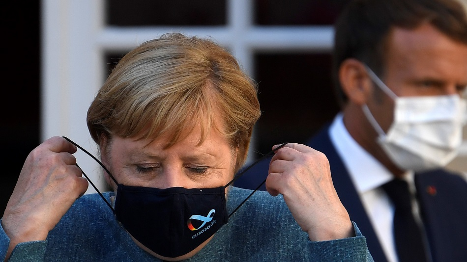 Corona In The World: German Chancellor Angela Merkel Said – The Situation In The Country Is Worrying, Health Emergency In France – Curfew Was Imposed in Paris; 3.87 Crore Cases In The World