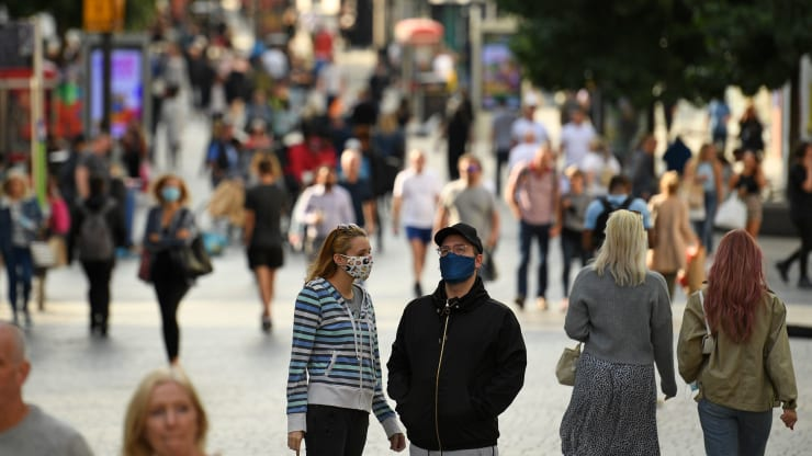 The UK set to impose contentious local shutdowns as coronavirus spreads rapidly