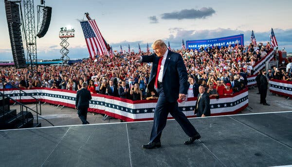 Presidential Elections in the US: Trump in Florida tried to show himself healthy for votes; Here his four lies that were caught