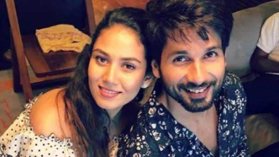 'I miss you': Shahid Kapoor shares a blurry photo with wife Mira, gets a cheeky response