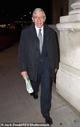 Jack Straw says Corbyn is finished asthe Labour Party is overwhelmingly united behind Sir Keir Starmer on this issue