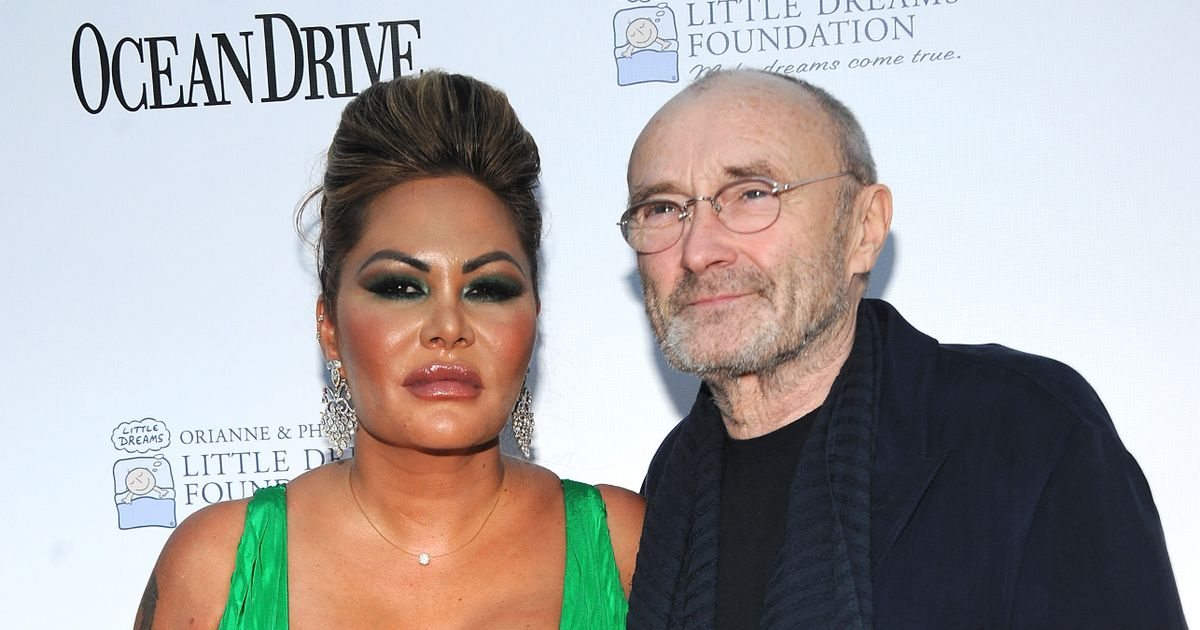 Phil Collins' wife 'had affair with a stripper' and introduced him to music star