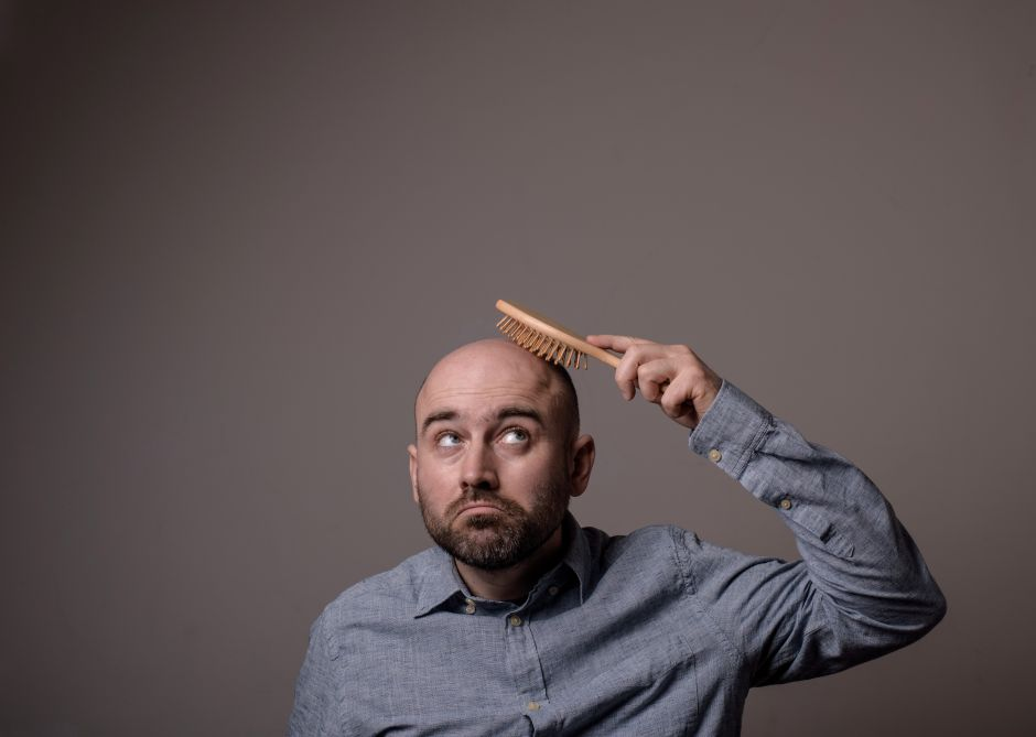 Is there a relationship between gray hair and baldness? | The NY Journal