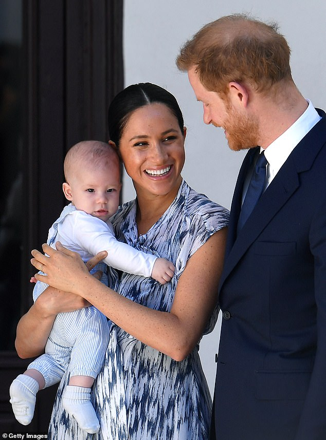 Archie's parents Harry and Meghan left for North America last November ¿ living first in Vancouver, Canada, and then moving to Los Angeles in March