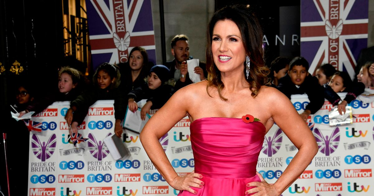 Pride of Britain's Susanna Reid admits she's sensitive after emotional lockdown
