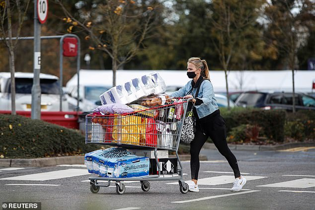 Some shoppers are concerned stock of essential items could run out during lockdown