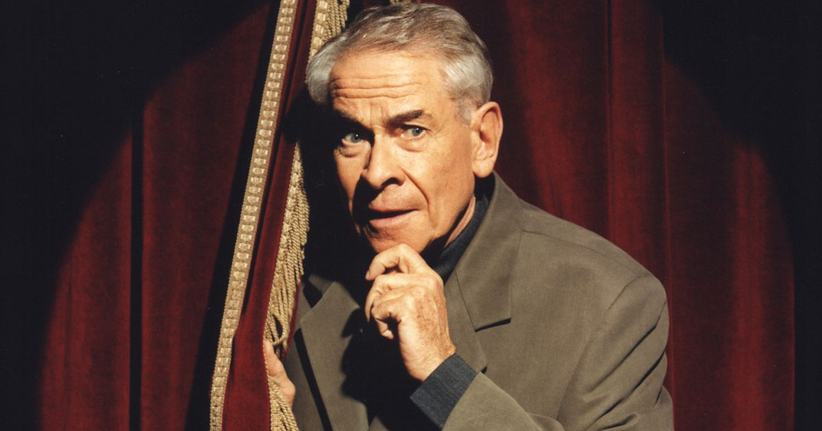 Stanley Baxter, 94, comes out as gay and explains pact he made with his wife