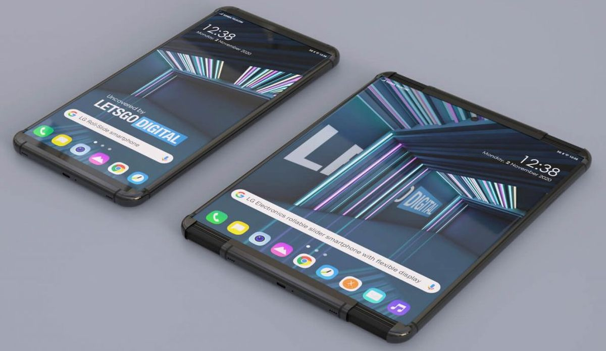 LG Phone With Rollable Display Revealed in Render, 2021 Launch Expected